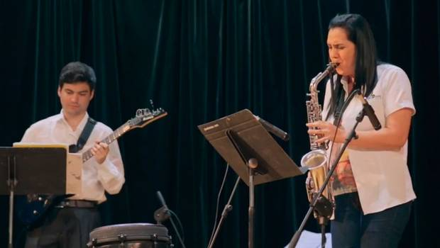 Patricia Zárate muestra que la música puede transformar la sociedad