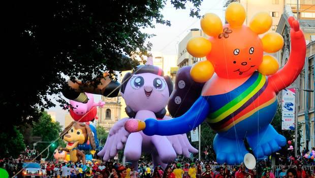 Las mejores imágenes del Paris Parade 2016