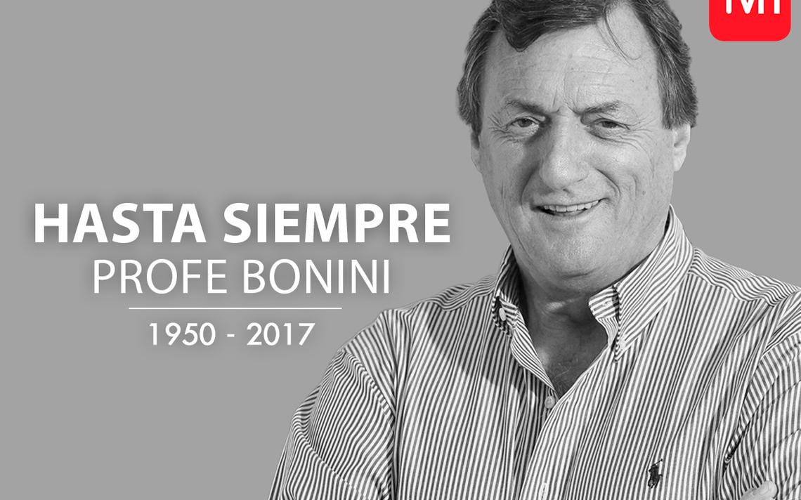 Seleccionados y mundo del fútbol lloran partida de Luis Bonini