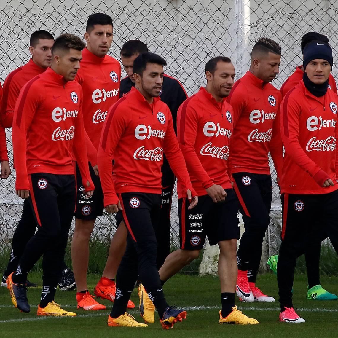 La Roja tuvo su primer entrenamiento pensando en Copa Confederaciones