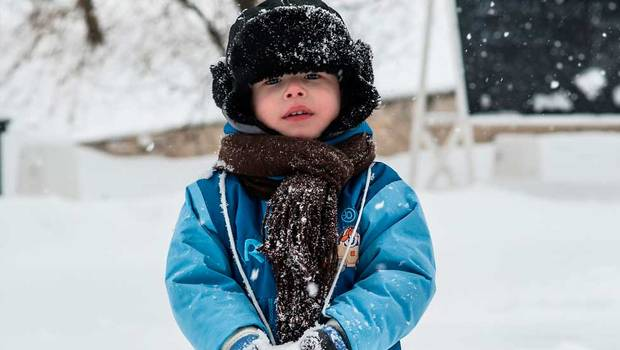 ¿Cómo abrigar a los niños en medio de una ola polar?