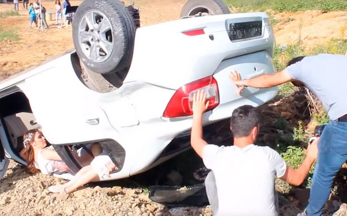 Detrás de cámara: Así se grabó el trágico accidente de Melek y Yusuf