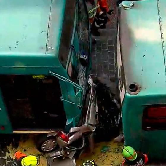 Víctimas de accidente fatal venían de evento solidario