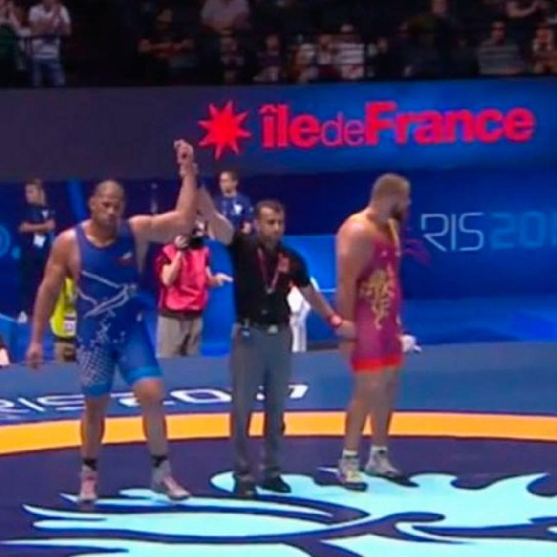Yasmani Acosta gana bronce para Chile en Mundial en Francia
