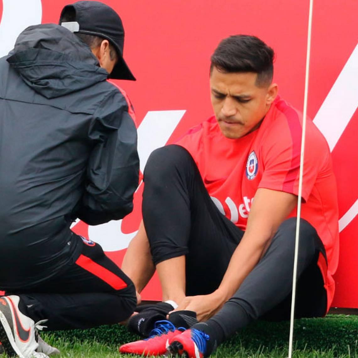 [Fotos] La Roja tuvo su primer entrenamiento pensando en Alemania