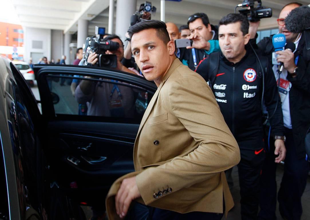 Alexis Sánchez desmintió controvertida publicación de medio inglés