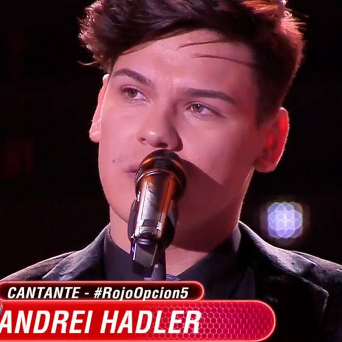 Andrei Hadler se salvó de ir a capilla cantando en inglés