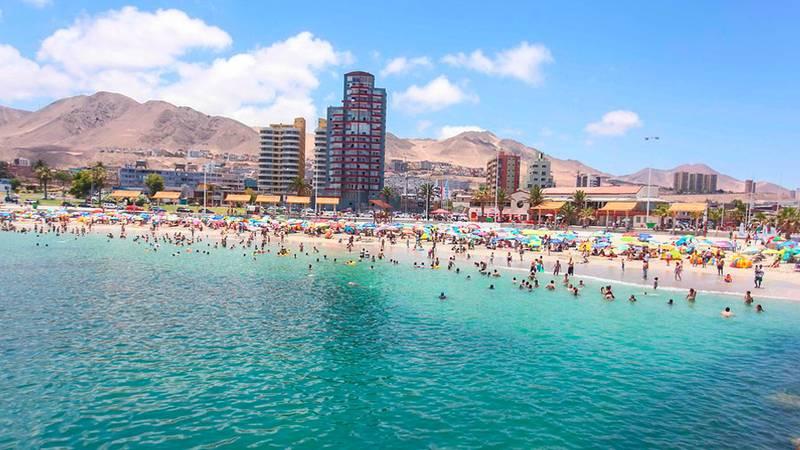 El increíble verano en Antofagasta