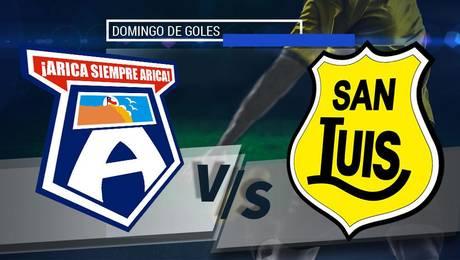 San Marcos de Arica vs San Luis