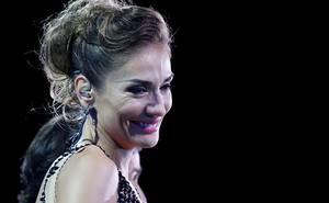 Carolina de Moras emocionada en segunda noche del Festival de Viña