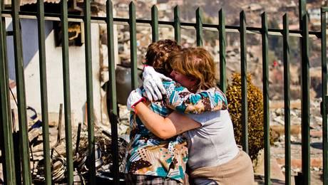 Incendio en Valparaíso: El día después