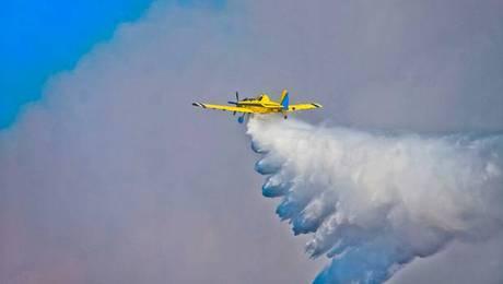 Argentina enviará aviones para combatir incendio en Valparaíso