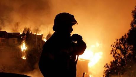 La segunda noche de terror que vivió Valparaíso