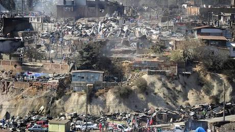 Por qué el incendio de Valparaíso fue tan destructivo