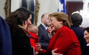 Presidenta Bachelet firmó el proyecto de