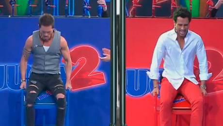 Morais y Marrochino demuestran su buen estado físico