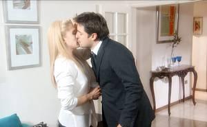Cuando los besos se endulzan de cariño