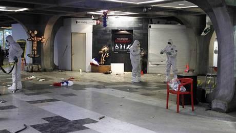 Atentado explosivo en Metro Escuela Militar