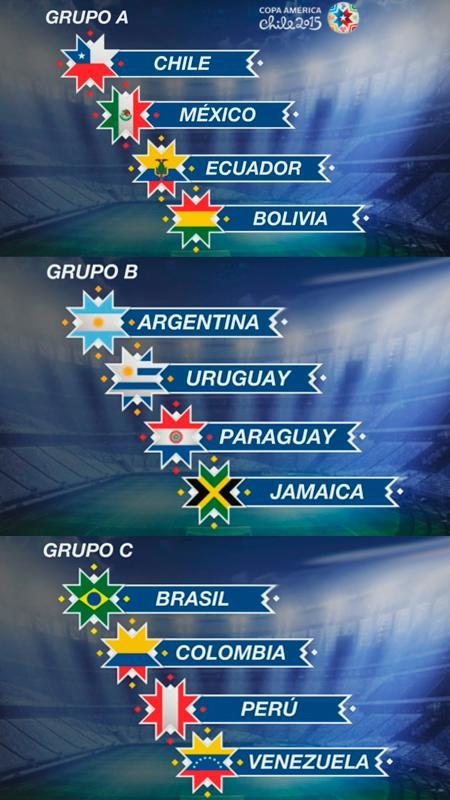 Chile enfrentará a Ecuador en partido inaugural