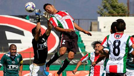 Revisa los goles de Palestino vs Wanderers