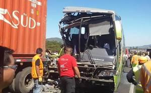 Una decena de heridos deja choque en Ruta 68