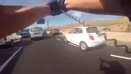 Polémica por video de Carabineros
