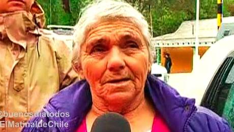 Increíble hazaña de abuelita