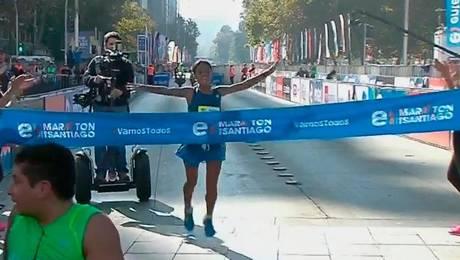 Inés Melchor gana el primer lugar femenino 2015