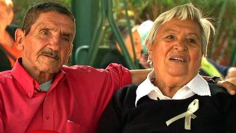 La historia de amor de Vicente y Gertrudis