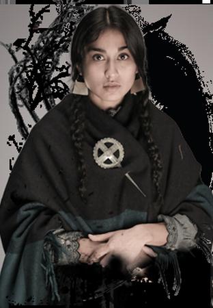 Gabriela Arancibia es Guacolda Paillán
