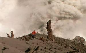 Chaitén: Sobre el volcán