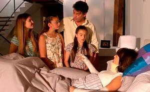 Valentina conoce a las hijas de Ramiro