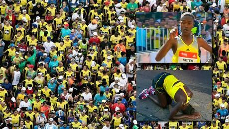 Keniata gana la Maratón de Santiago y marca nuevo record