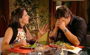 El cara a cara entre Pedro y Carolina