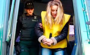 Claudia conserva vivió un día en la cárcel