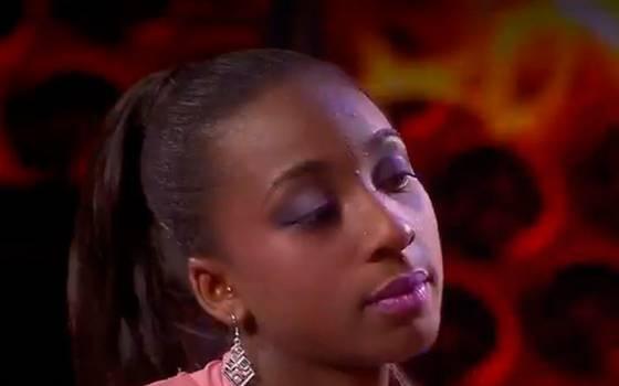 Ashly Viáfara es la segunda cantante eliminada de Rojo