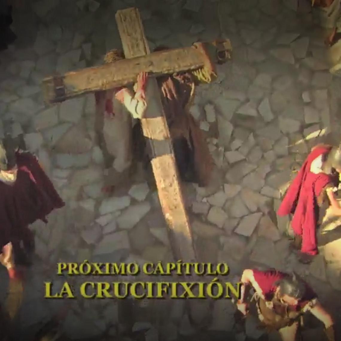 Próximo capítulo: La crucifixión