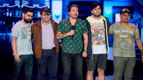 ¿Son los Backstreet Boys? La performance de Avello que sacó carcajadas en Olmué