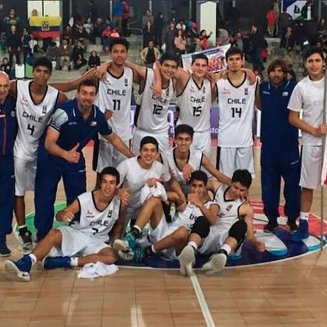 ¡Orgullo nacional! Chile es campeón sub 17 en el básquetbol