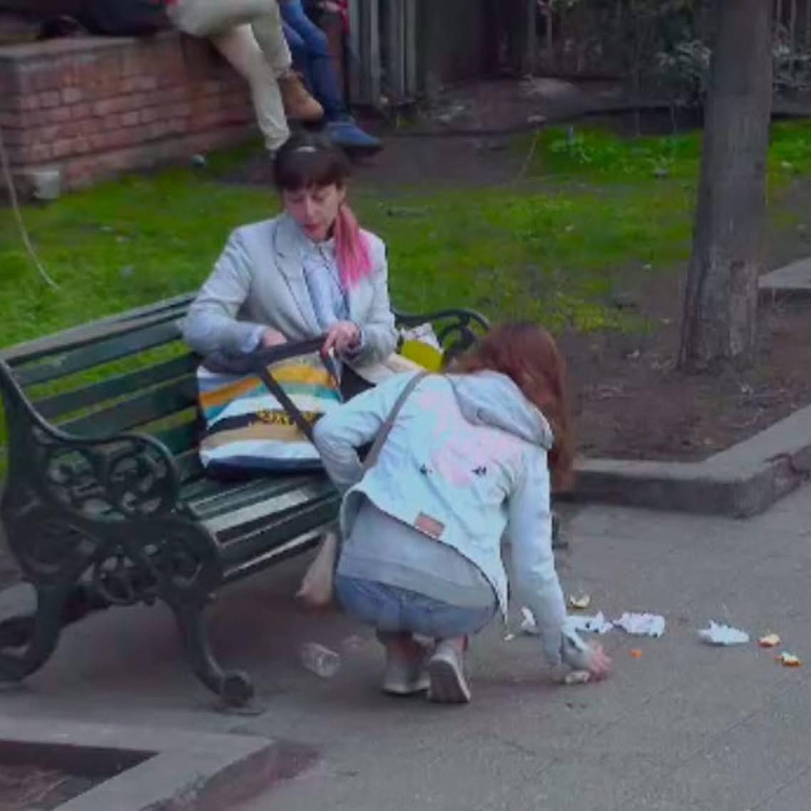 Cuando haces de la calle un basurero