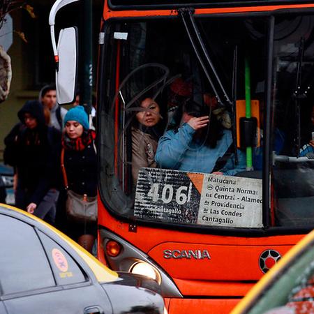 Caos vial en Santiago