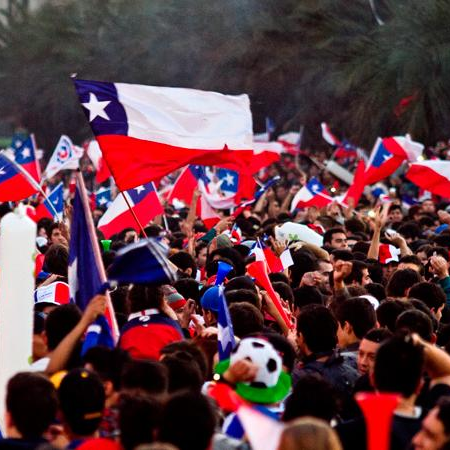 Continuamos celebrando el triunfo de La Roja