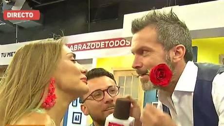 Matinatón: Así fue el beso de Carolina de Moras y Cristián Sánchez