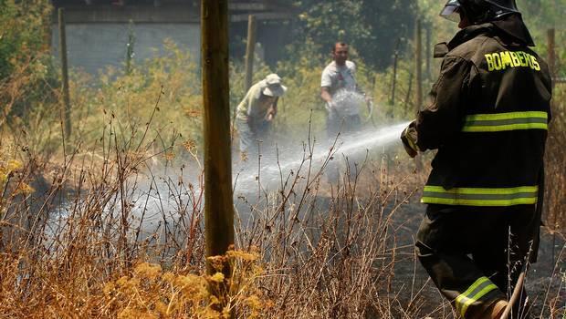 Sigue la situación de los incendios forestales a lo largo del país