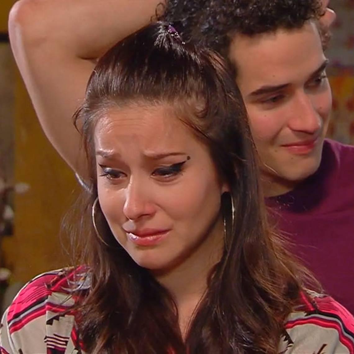 Marcela quedó con el corazón destrozado