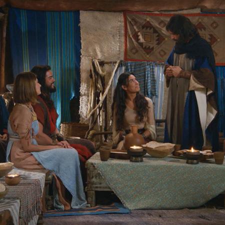 Los novios reciben la bendición de Moisés