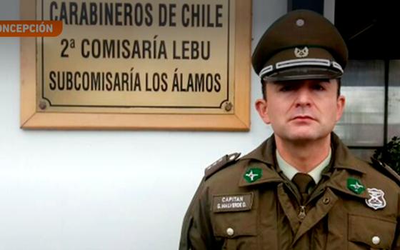 Carabinero héroe rescató a 40 personas en Concepción