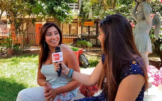 "Carmen Gloria Arroyo: \""Estoy feliz en TVN\"""