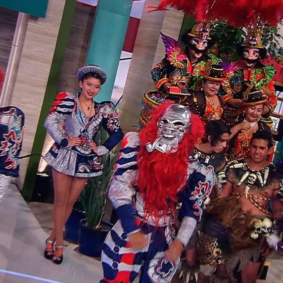 Carnaval de Arica llega a Muy Buenos Días