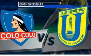 Colo-Colo vs U. de Concepción